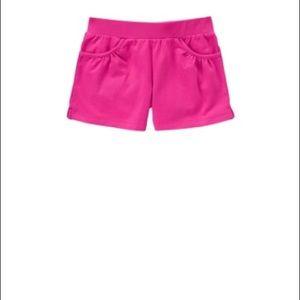 NWT Gymboree Girls Pretty Posies Knit Soft Floral Shorts Size 3 /& 4